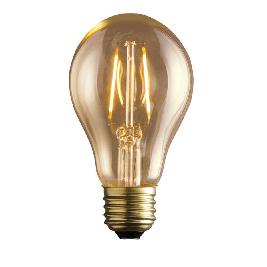 Kichler Lighting Vintage 2-Watt (40W Equivalent) 2,200K Medium Base (E-26) Amber Dimmable Decorative LED Light Bulb