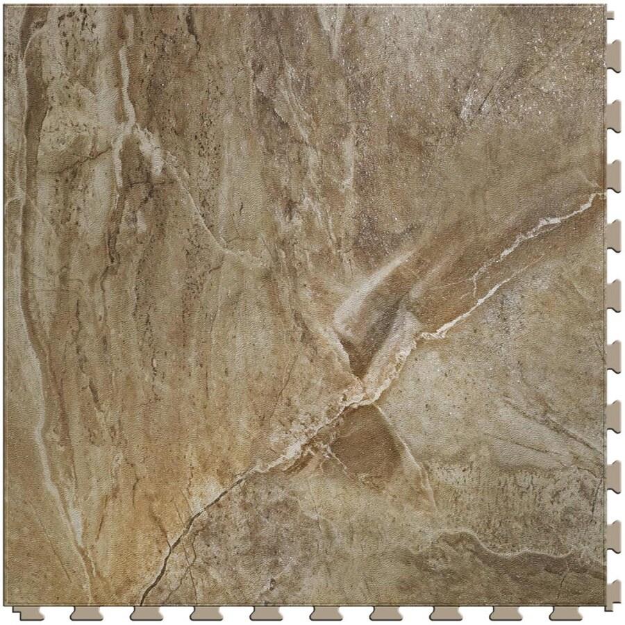 Floating Vinyl Flooring Lowes: Shop Perfection Floor Tile LVT 6-Piece 20-in X 20-in