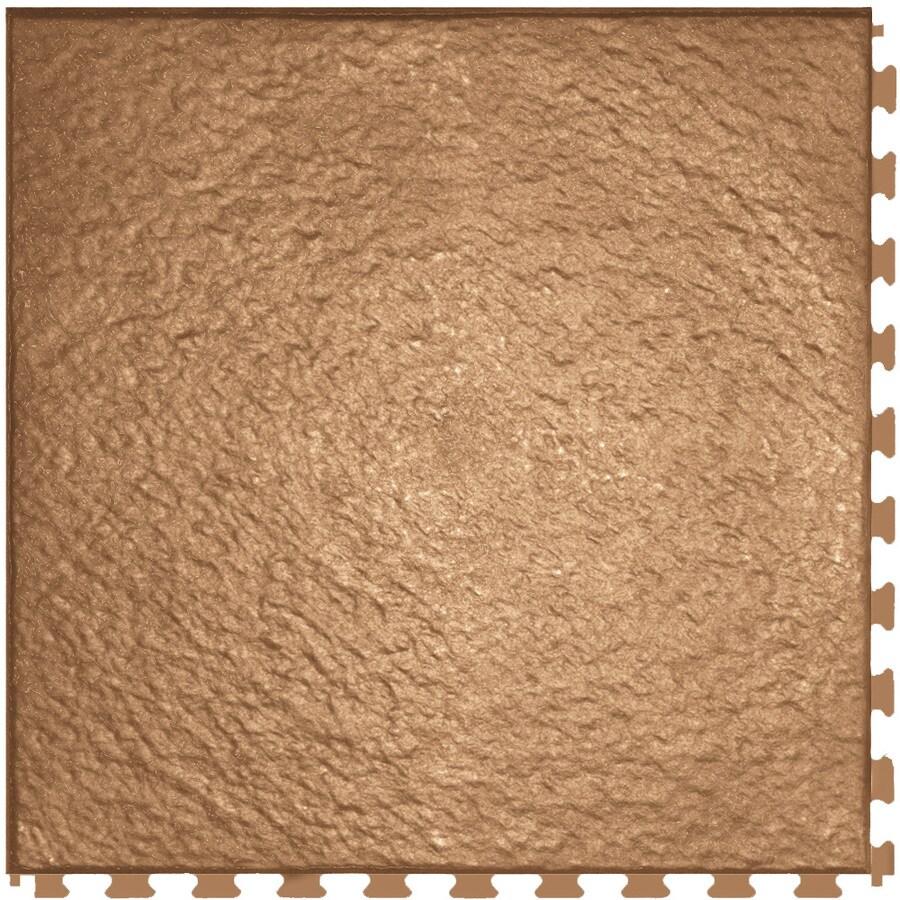 Perfection Floor Tile LVT 6-Piece 20-in x 20-in Clay Floating Slate Luxury Vinyl Tile