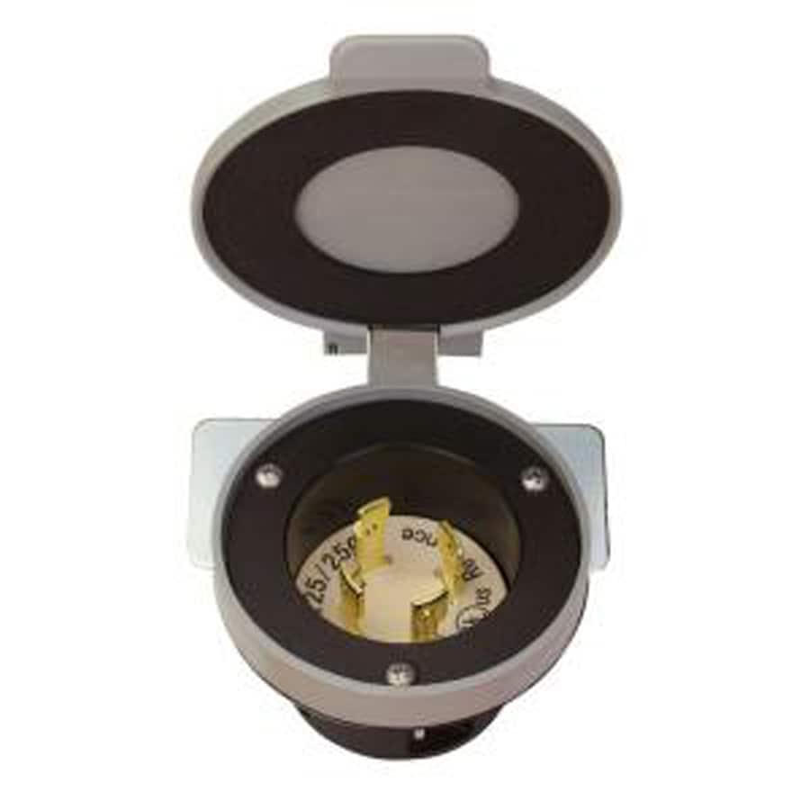Reliance 50-Amp Generator Power Inlet Box