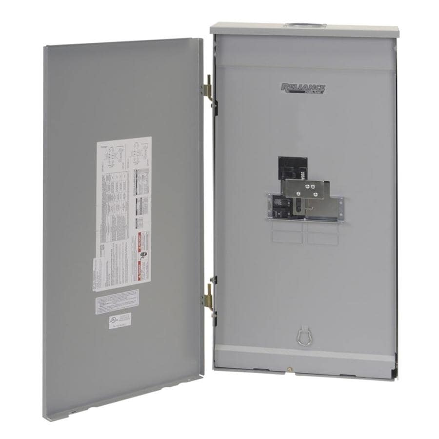 Reliance 200-Amp Utility Sub Panel/Main Panel