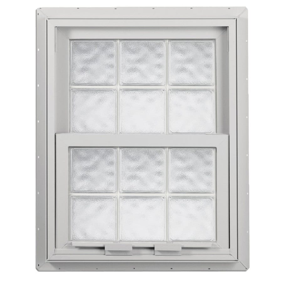 Hy-Lite Design Vinyl Double Pane Tempered Single Hung Window (Rough Opening: 28.675-in x 41.25-in; Actual: 28.125-in x 40.75-in)