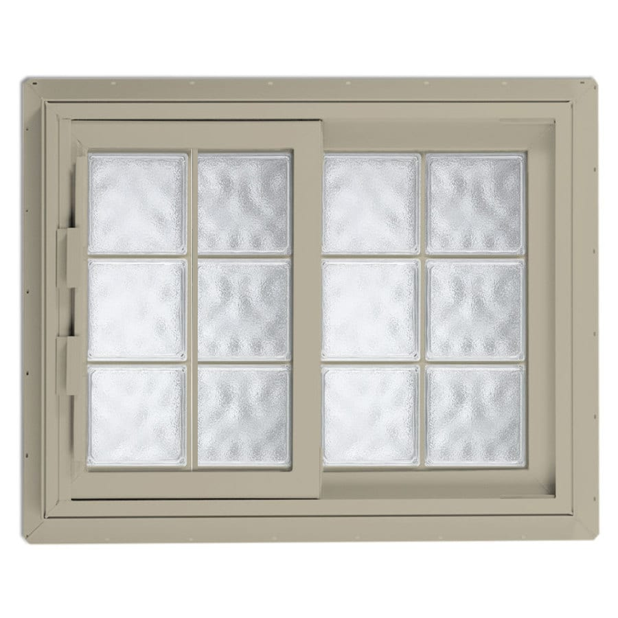 Hy-Lite Design Right-Operable Vinyl Double Pane Tempered New Construction Sliding Window (Rough Opening: 53.25-in x 46.625-in; Actual: 52.75-in x 46.125-in)