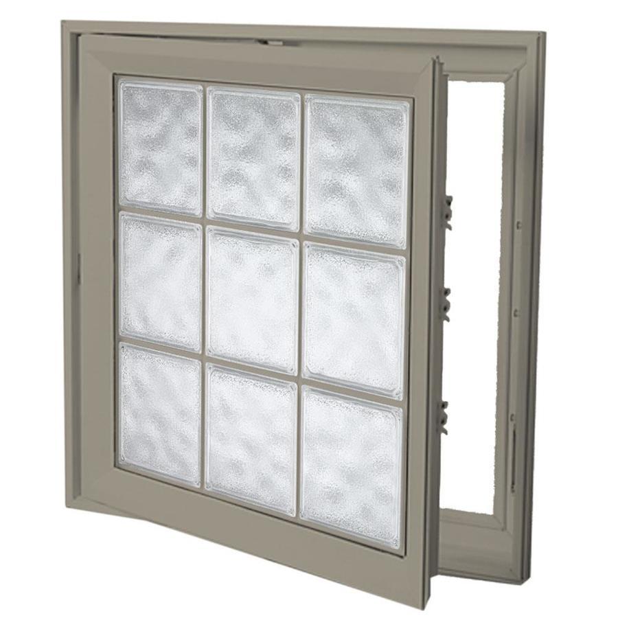 Hy-Lite Deisgn Vinyl Double Pane Tempered New Construction Casement Window (Rough Opening: 22-in x 46-in Actual: 21.5-in x 45.5-in)