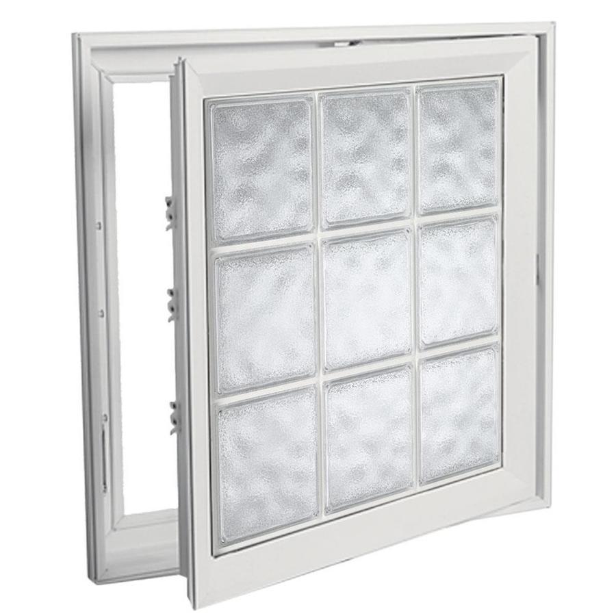 Shop hy lite deisgn vinyl double pane tempered new for Double pane vinyl windows