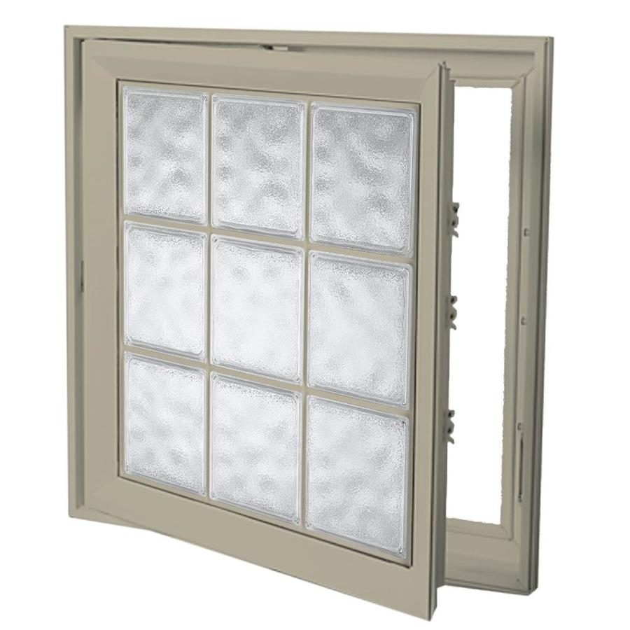 Shop hy lite deisgn vinyl double pane tempered new for Double casement windows