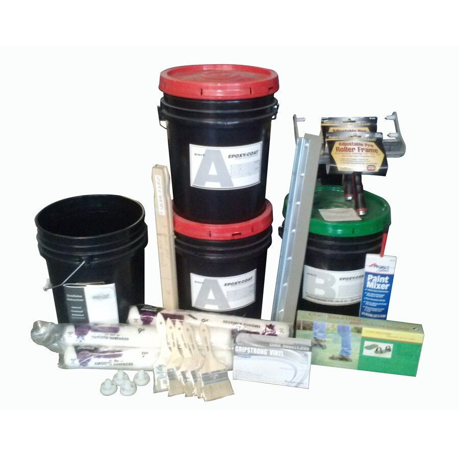 Epoxy-Coat 2-Part Gray High-Gloss Epoxy Garage Floor Epoxy Kit (Actual Net Contents: 1,920-fl oz)