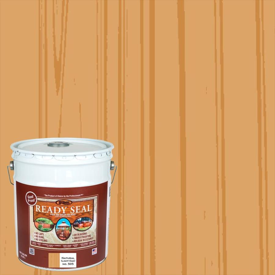 Ready Seal Light Oak Semi-Transparent Exterior Stain (Actual Net Contents: 640 Fluid Oz.)