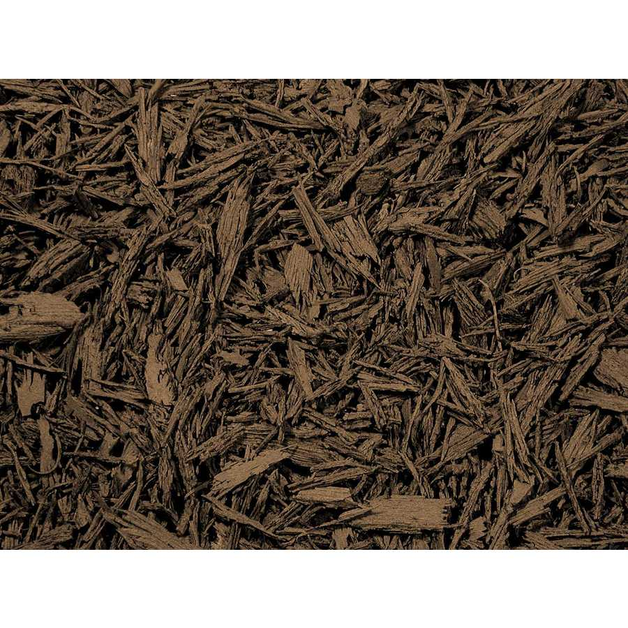 Rubberific 80-cu ft Rubber Shredded Brown Bulk Mulch (Playground Certified)