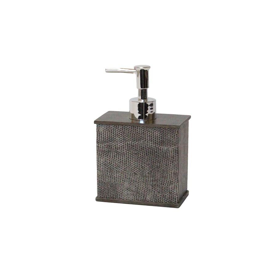 BathSense Faux Lizard Grey Soap and Lotion Dispenser