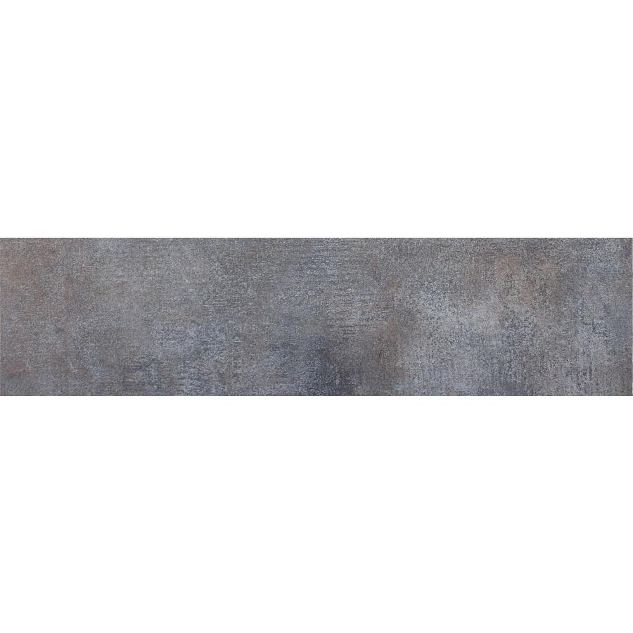 FLOORS 2000 Keiv Negro Ceramic Bullnose Tile (Common: 3-in x 18-in; Actual: 3-in x 17.27-in)