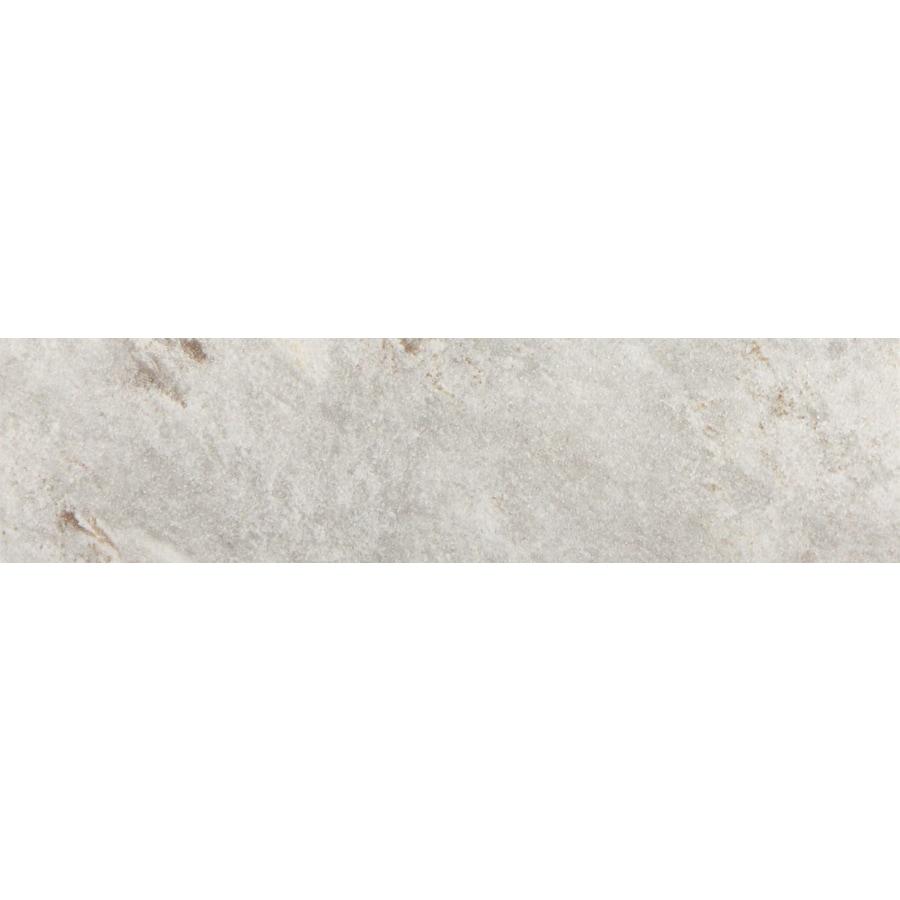 FLOORS 2000 Toscana Grey Glazed Porcelain Indoor/Outdoor Bullnose Tile (Common: 3-in x 13-in; Actual: 3-in x 13-in)