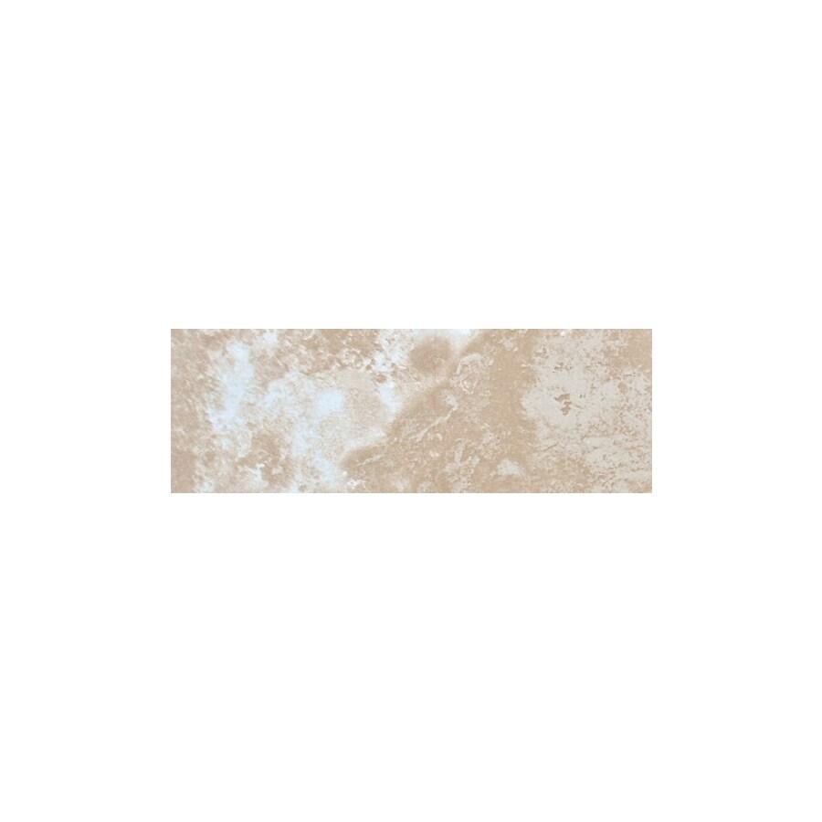 FLOORS 2000 Torino Beige Ceramic Bullnose Tile (Common: 3-in x 18-in; Actual: 3-in x 17.72-in)