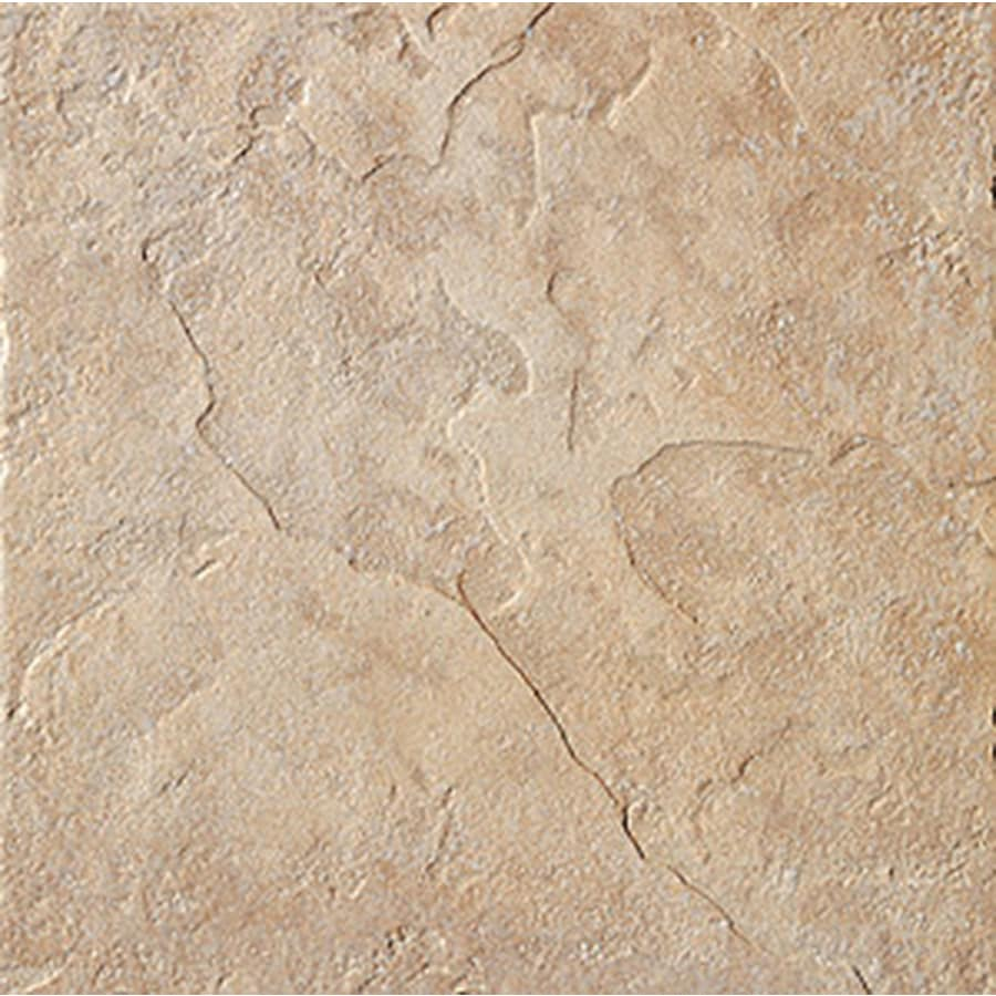 FLOORS 2000 Riverstone 36-Pack Brazos Porcelain Floor and Wall Tile (Common: 6-in x 6-in; Actual: 6.46-in x 6.46-in)