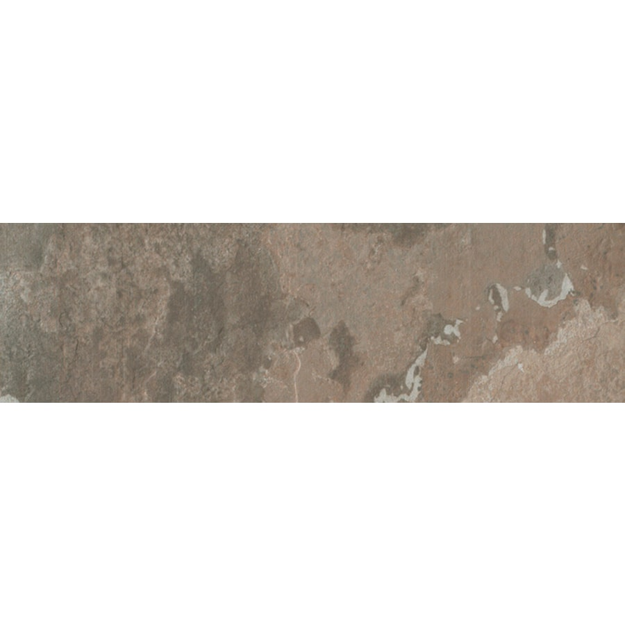 FLOORS 2000 Afrika Nairobi Porcelain Bullnose Tile (Common: 3-in x 18-in; Actual: 3-in x 17.91-in)