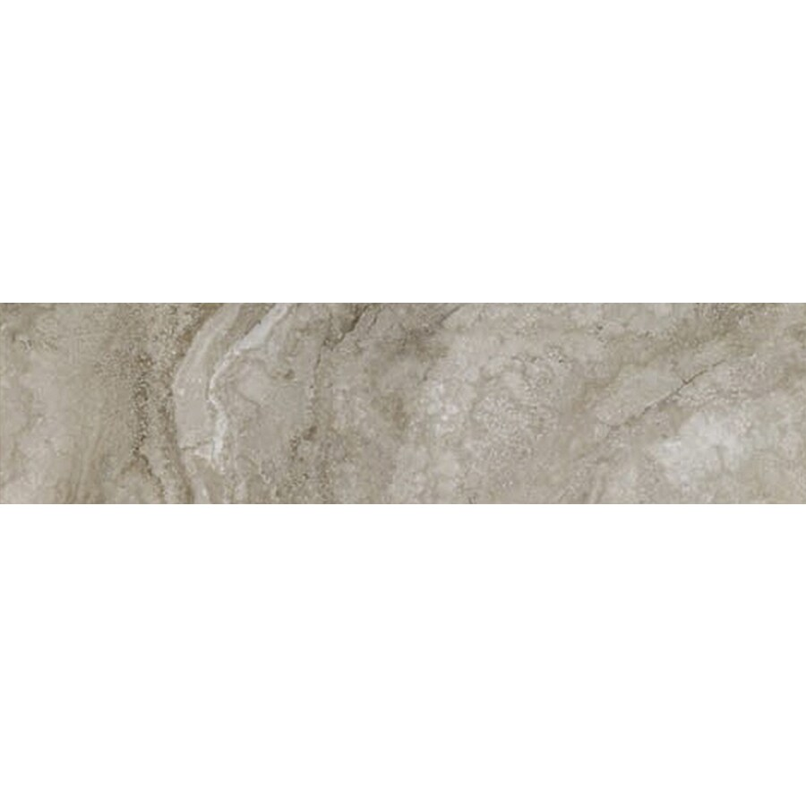FLOORS 2000 Galapagos Mountain Mist Porcelain Bullnose Tile (Common: 3-in x 12-in; Actual: 3-in x 12.69-in)
