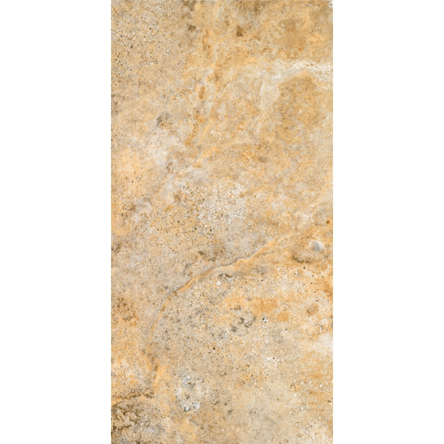 FLOORS 2000 Vitality 14-Pack Fire Porcelain Floor and Wall Tile (Common: 9-in x 18-in; Actual: 9.05-in x 17.86-in)
