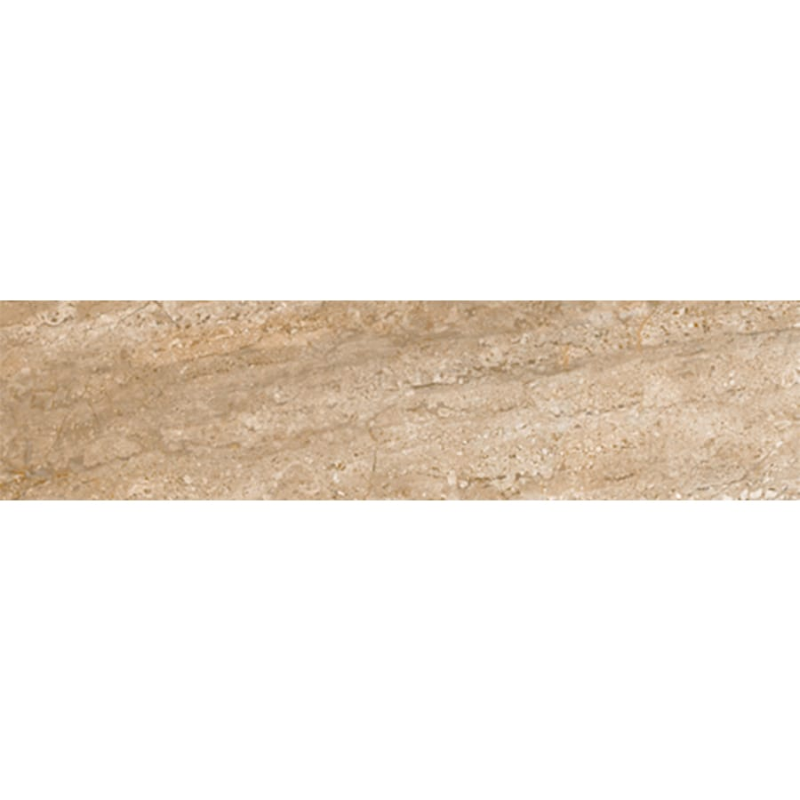 FLOORS 2000 Headline Chronicle Porcelain Bullnose Tile (Common: 3-in x 18-in; Actual: 3-in x 17.91-in)