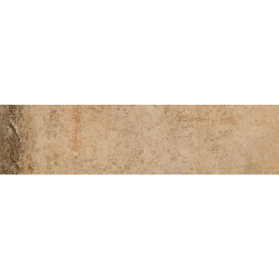 FLOORS 2000 Bridgeport Autumn Porcelain Bullnose Tile (Common: 3-in x 12-in; Actual: 3-in x 11.81-in)
