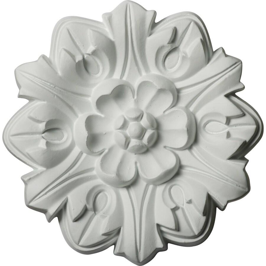 Ekena Millwork Emery 7.625-in x 7.625-in Polyurethane Ceiling Medallion