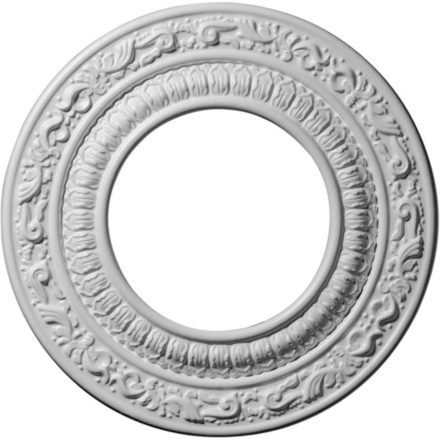 Ekena Millwork Andrea 8.125-in x 8.125-in Polyurethane Ceiling Medallion