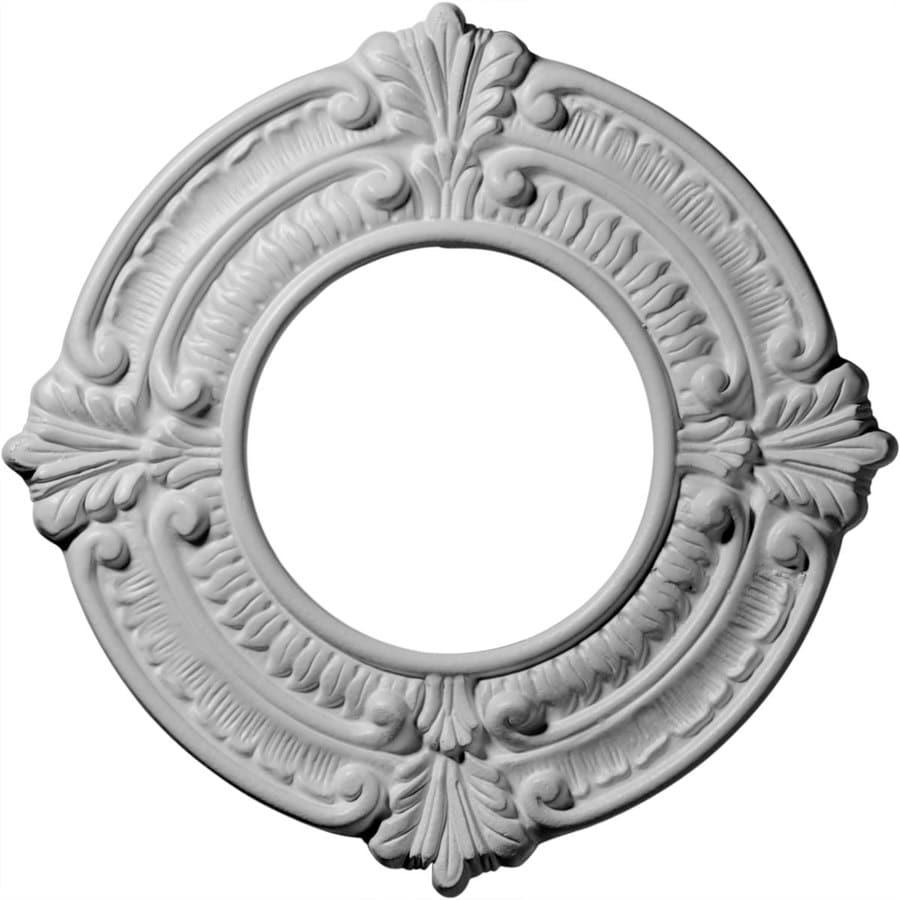 Ekena Millwork Benson 9-in x 9-in Polyurethane Ceiling Medallion
