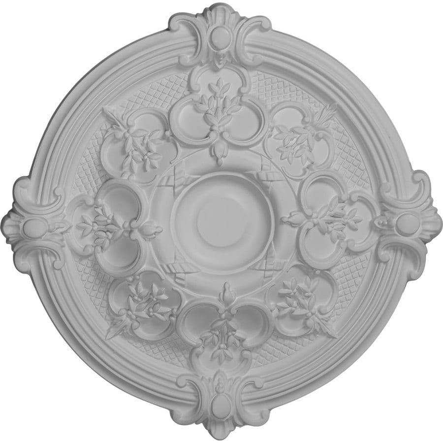 Ekena Millwork Hamilton 17.375-in x 17.375-in Polyurethane Ceiling Medallion
