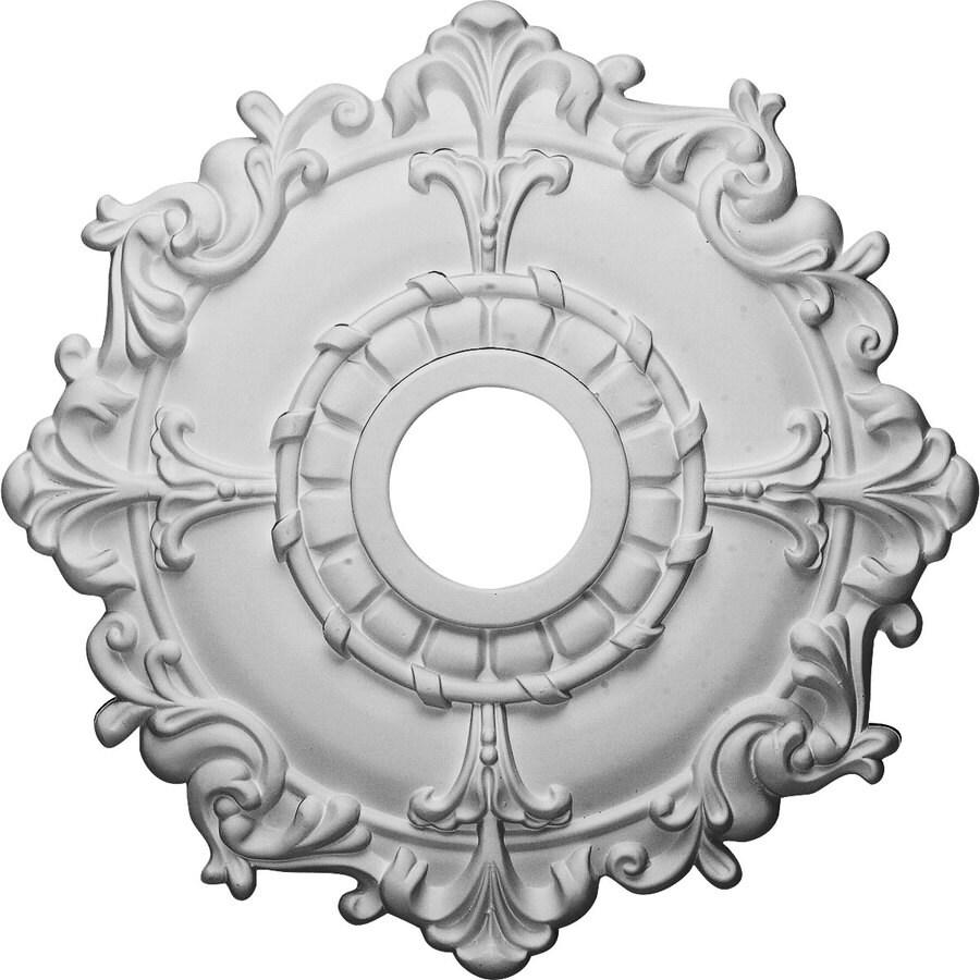 Ekena Millwork Riley 18-in x 18-in Polyurethane Ceiling Medallion