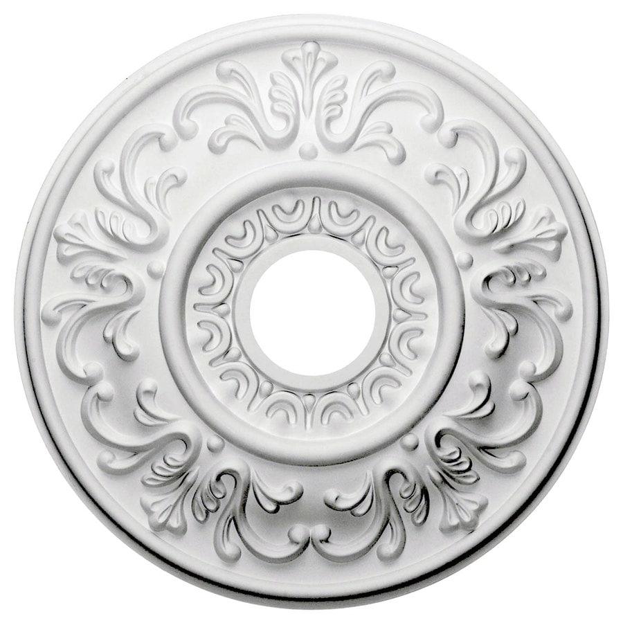 Ekena Millwork Valetta 18-in x 18-in Polyurethane Ceiling Medallion