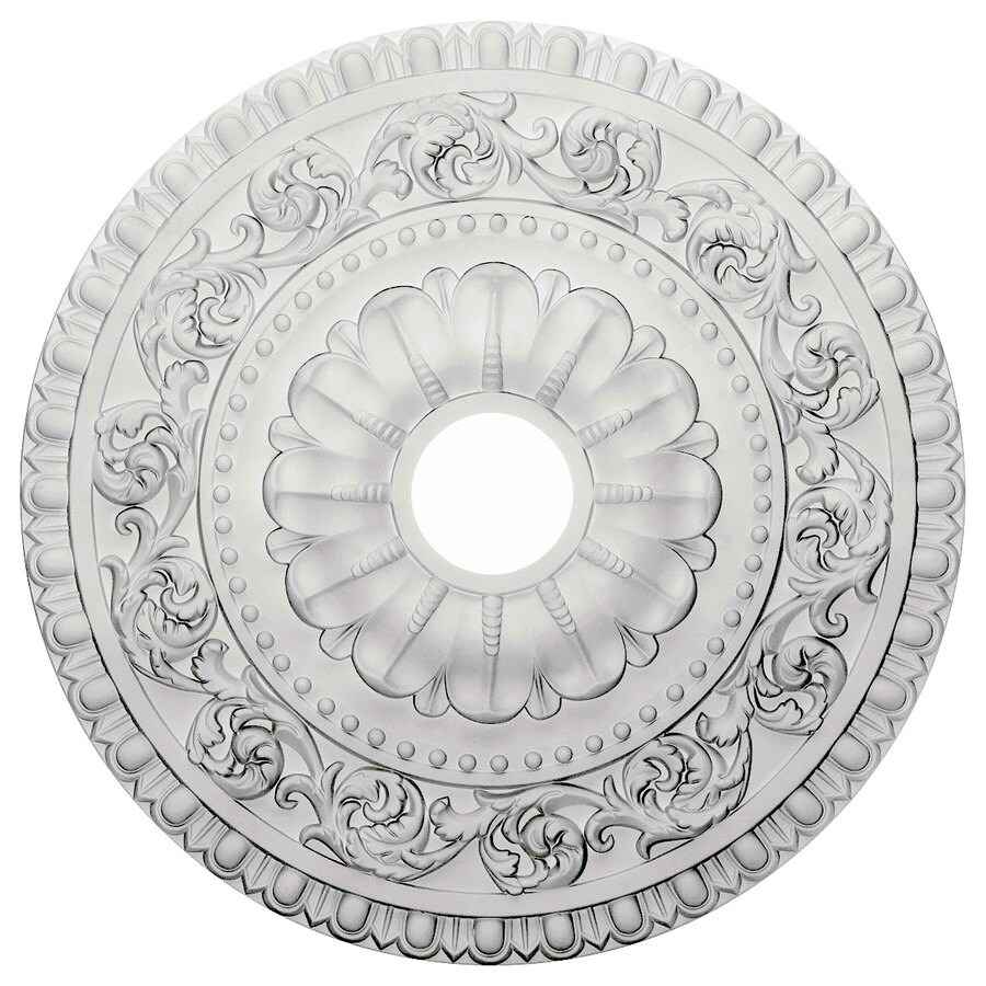 Ekena Millwork Vaduz 23.5-in x 23.5-in Polyurethane Ceiling Medallion