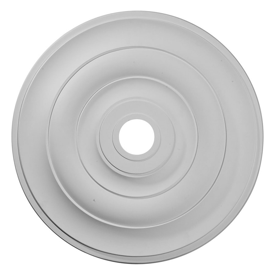 Ekena Millwork Jefferson 26.5-in x 26.5-in Polyurethane Ceiling Medallion