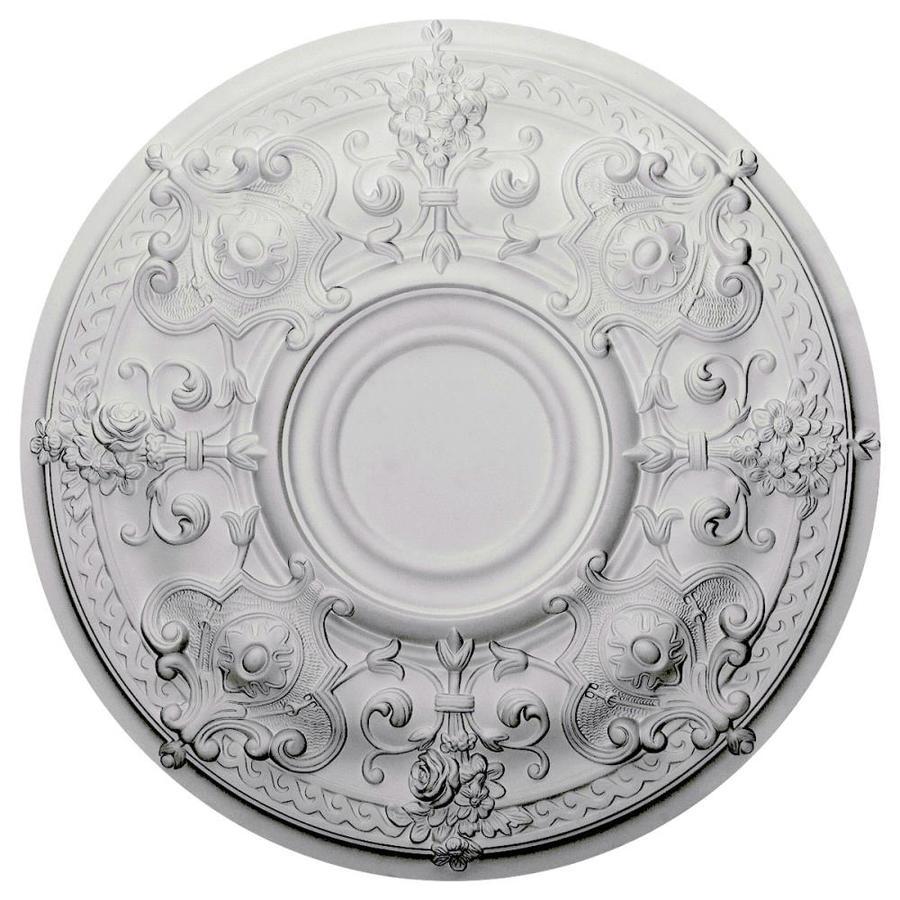 Ekena Millwork Oslo 28.125-in x 28.125-in Polyurethane Ceiling Medallion