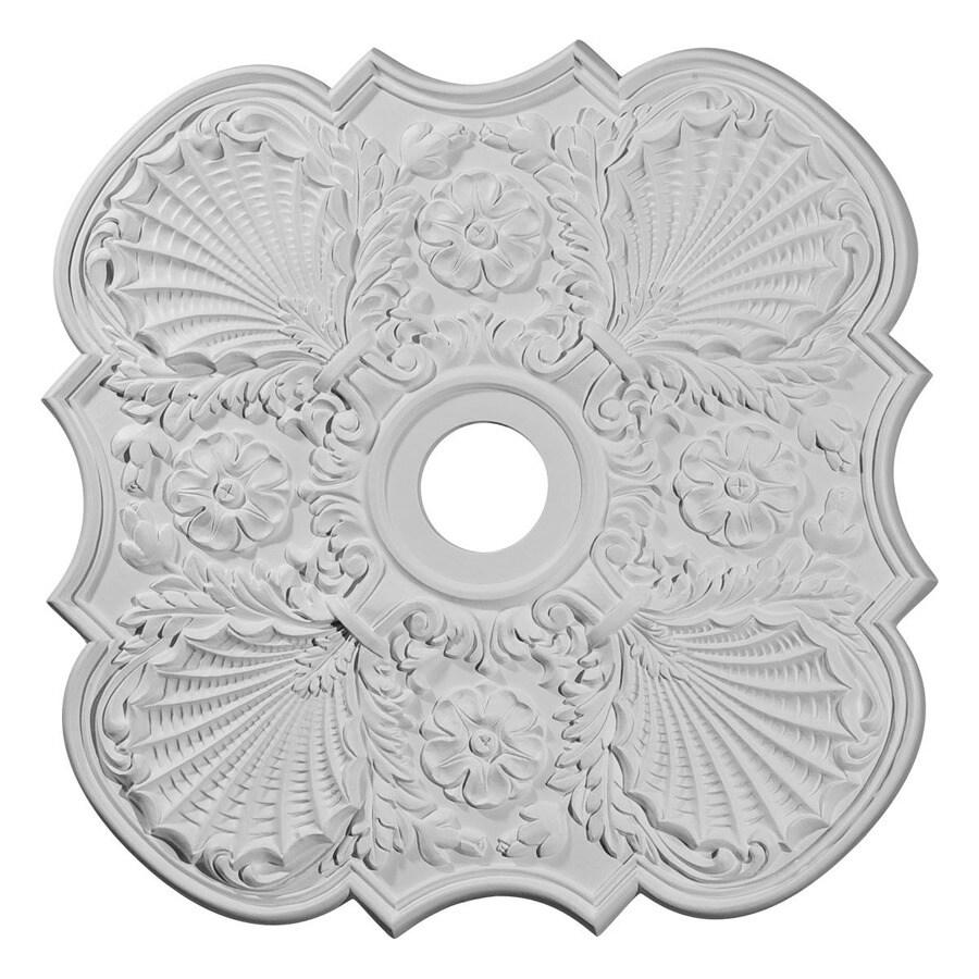 Ekena Millwork Flower 29-in x 29-in Polyurethane Ceiling Medallion