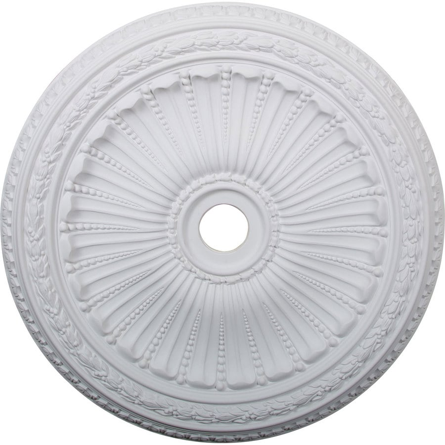 Ekena Millwork Viceroy 35.125-in x 35.125-in Polyurethane Ceiling Medallion
