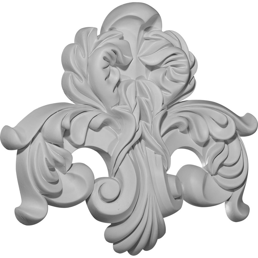 Ekena Millwork 12.5-in x 10.625-in Benson Urethane Applique