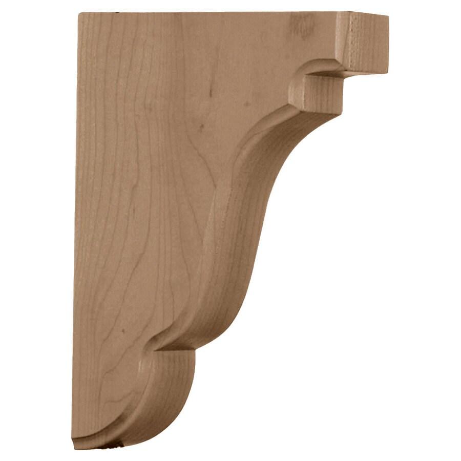 Ekena Millwork 1.75-in x 7.5-in Poplar Bedford Wood Corbel