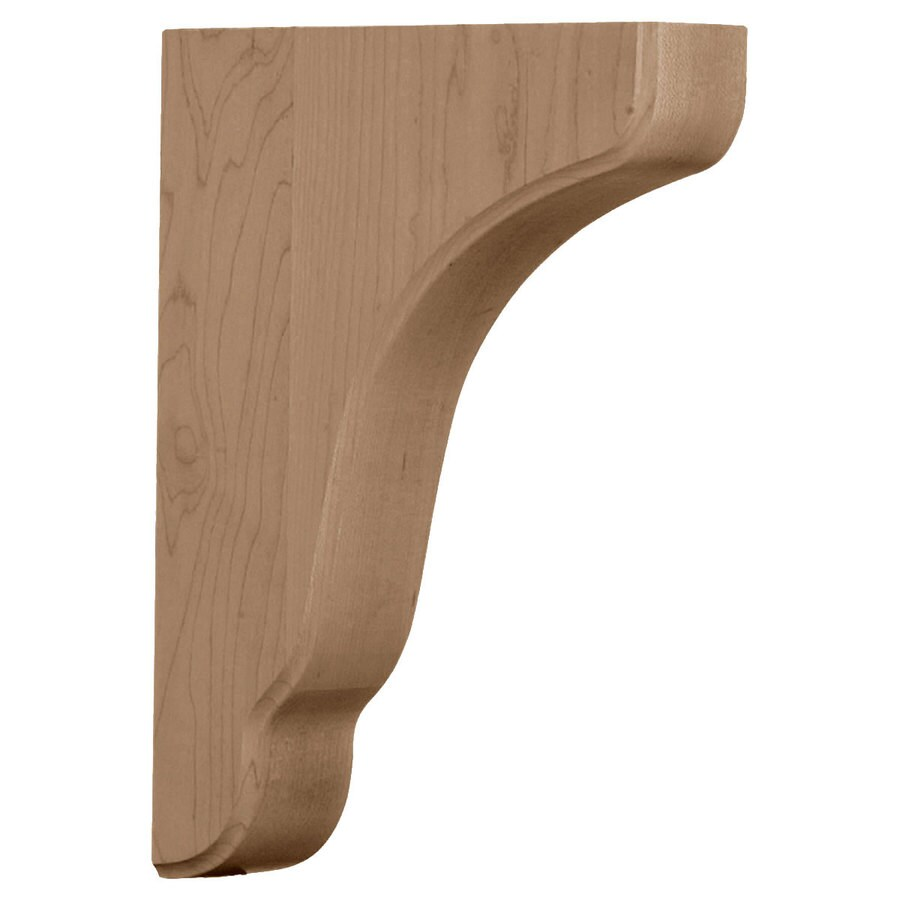 Ekena Millwork 1.75-in x 11-in Alder Plymouth Wood Corbel