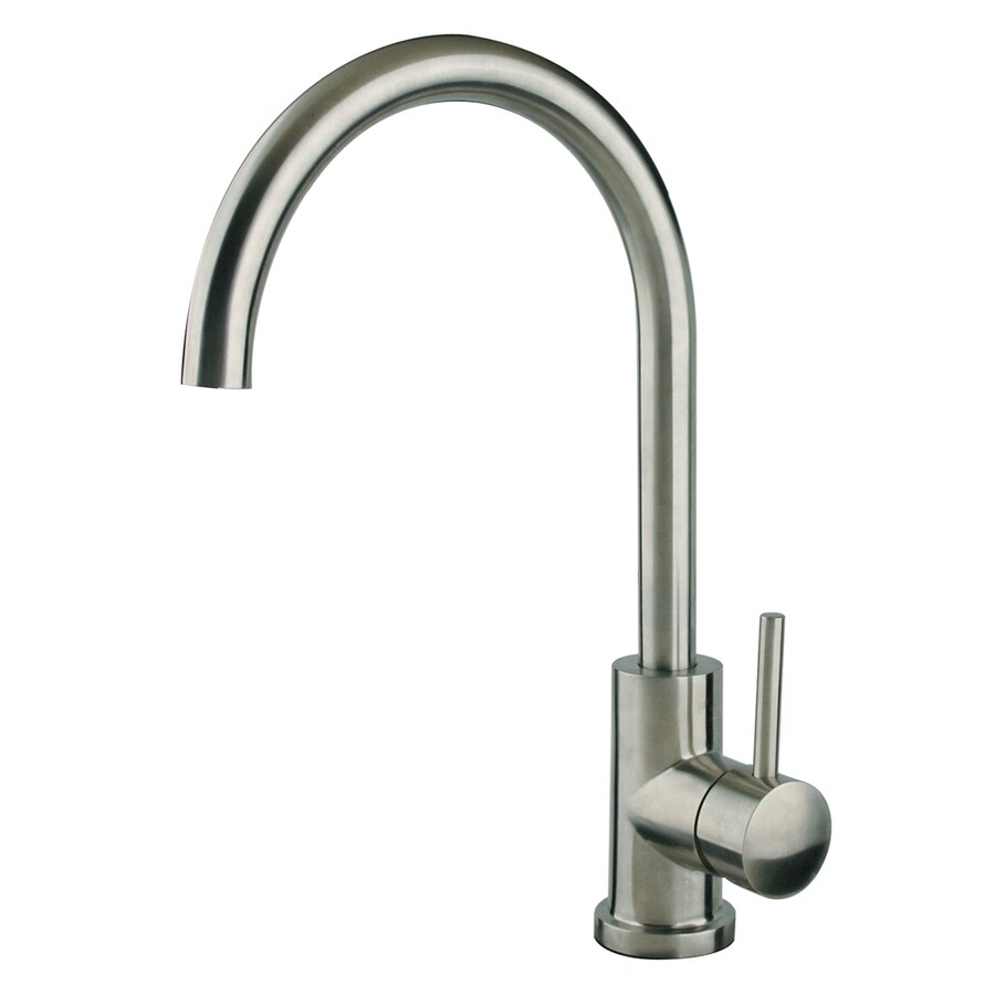 Shop Superior Sinks Stainless Steel 1 Handle High Arc