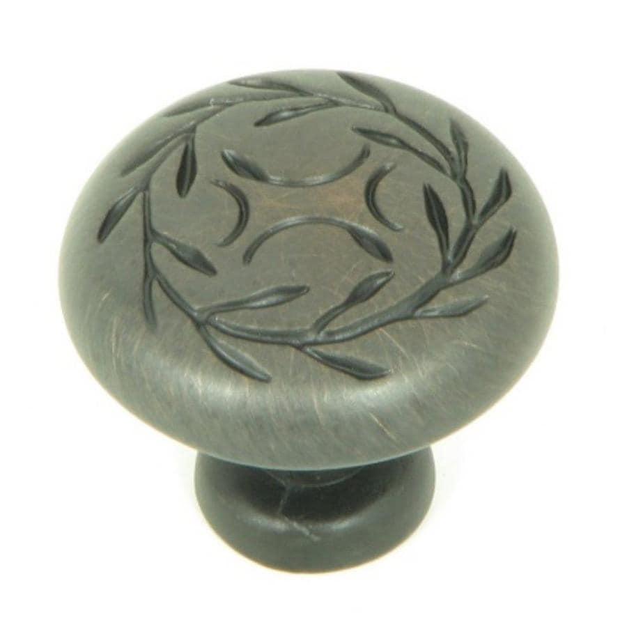 Stone Mill Hardware CP3041-OB Leaf Cabinet Knob Oil-Rubbed Bronze
