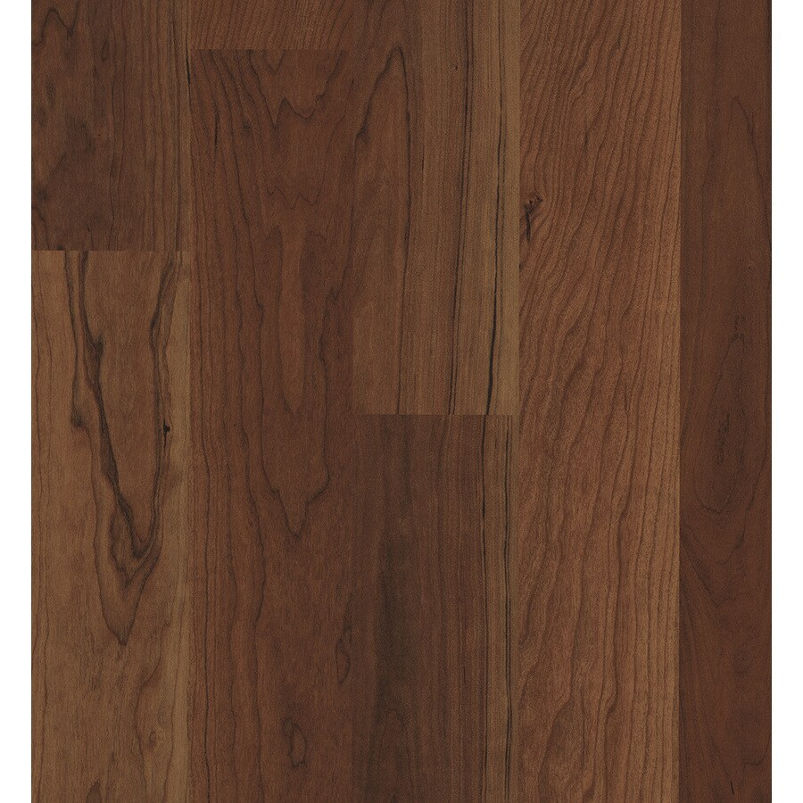 SwiftLock 7.6-in W x 4.23-ft L Crimson Cherry Wood Plank Laminate Flooring