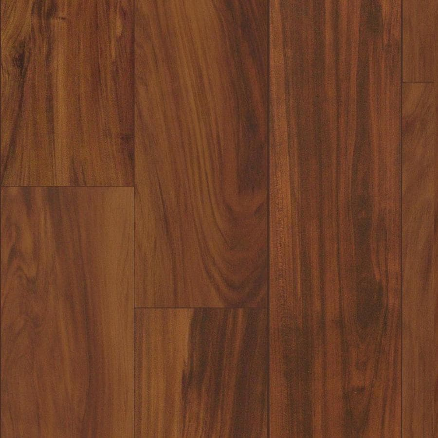 Style Selections 4.96-in W x 4.23-ft L Orchard Plum Wood Plank Laminate Flooring