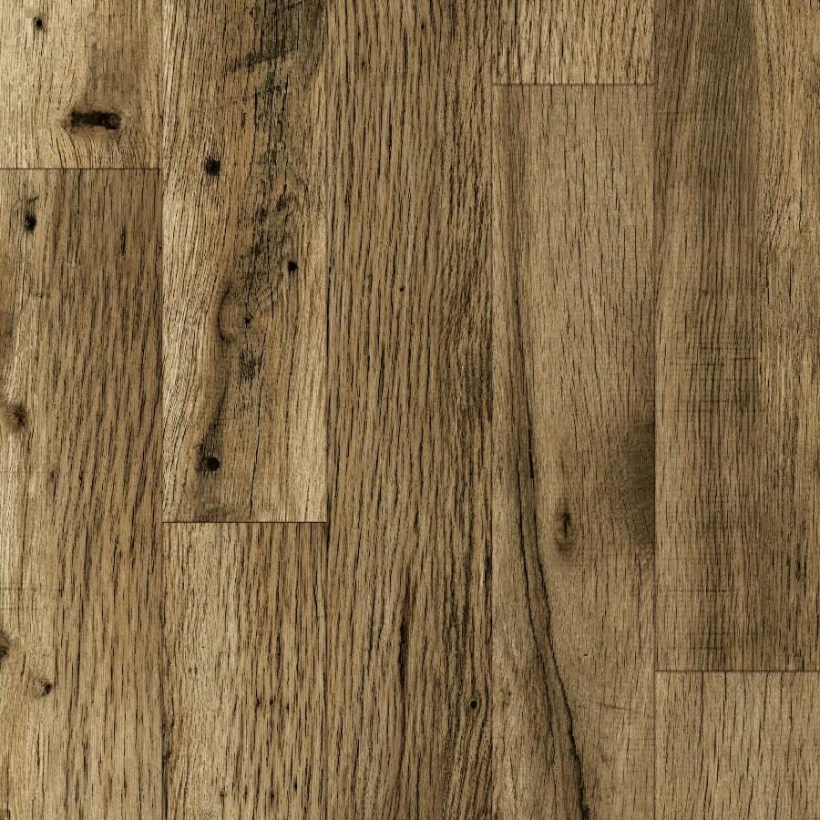 allen + roth Embossed Oak Wood Planks Sample (Rustic Mill Oak)