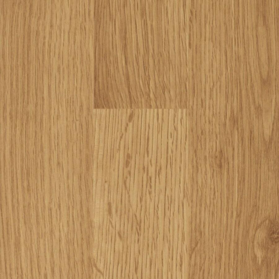SwiftLock 7.6-in W x 4.23-ft L Oak Smooth Laminate Wood Planks