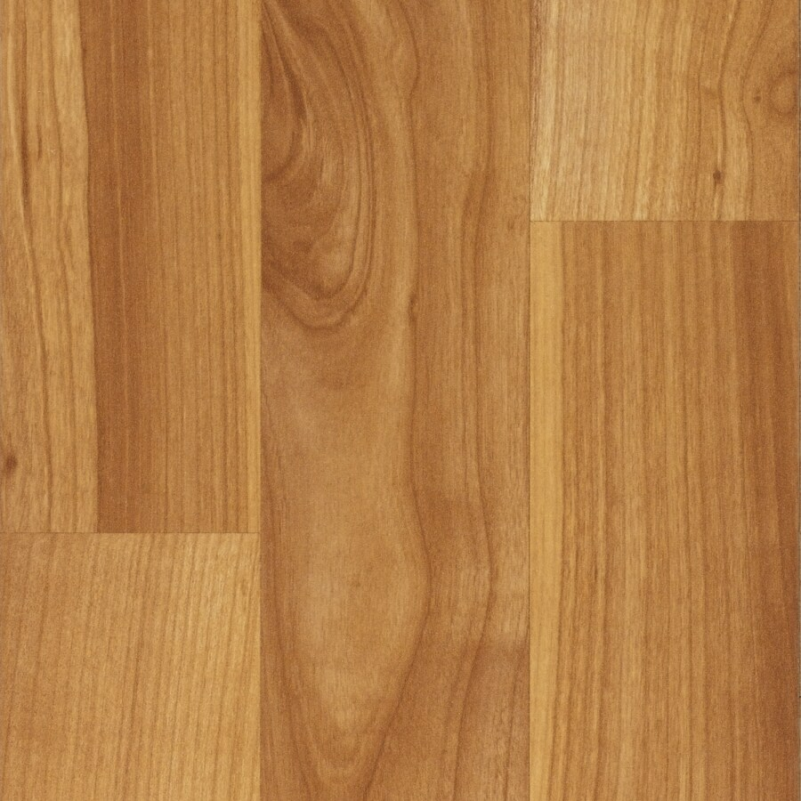 SwiftLock 7.6-in W x 4.52-ft L Cherry Smooth Laminate Wood Planks