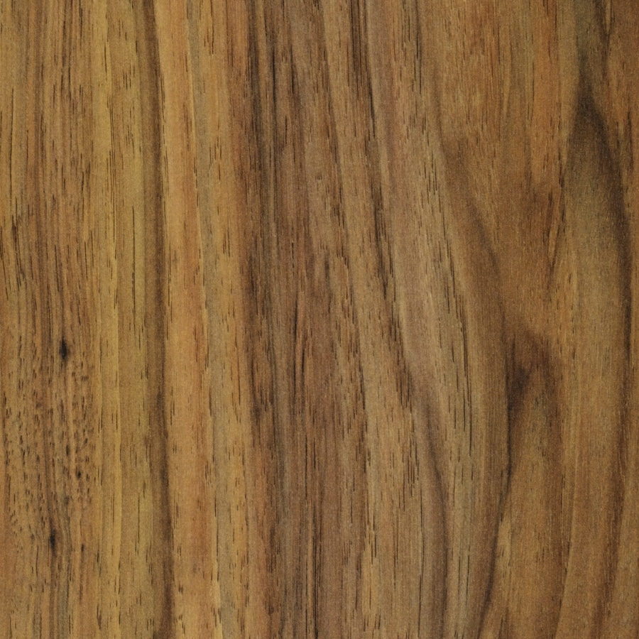 SwiftLock 7.6-in W x 4.52-ft L Pecan Smooth Laminate Wood Planks