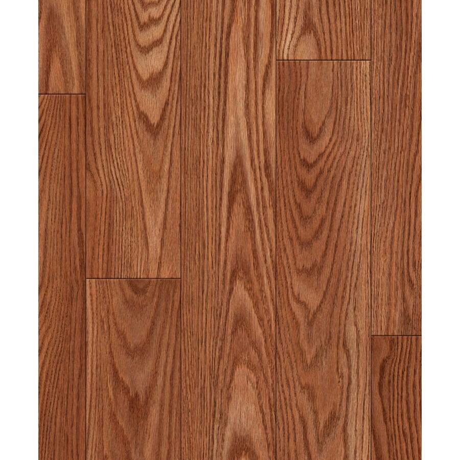 allen + roth Embossed Oak Wood Planks Sample (Nutmeg Oak)