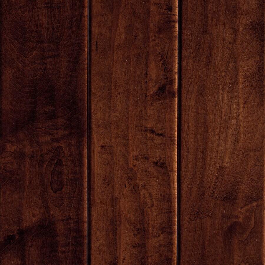 Mohawk 5.36-in Dark Auburn Maple Hardwood Flooring (22.5-sq ft)