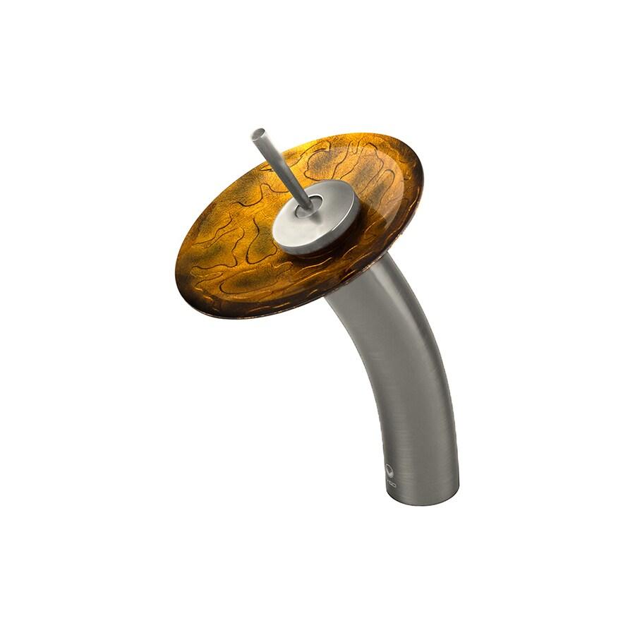VIGO Copper Shapes 1-Handle Single Hole WaterSense Bathroom Faucet