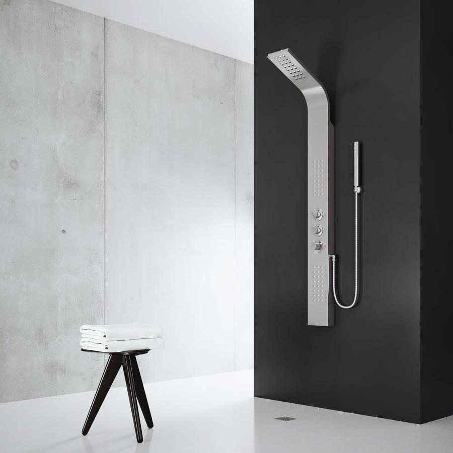 3-Way Stainless Steel Shower Panel System Product Photo
