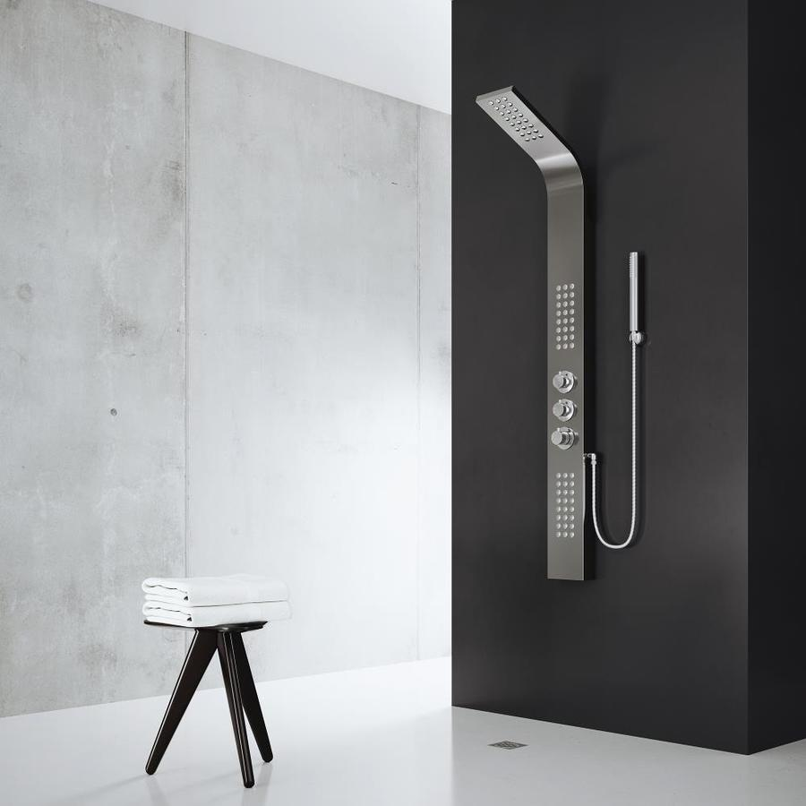 VIGO 3-Way Gunmetal Shower Panel System